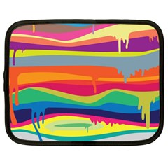 Colorfull Rainbow Netbook Case (xl)  by Jojostore