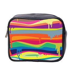 Colorfull Rainbow Mini Toiletries Bag 2 Side