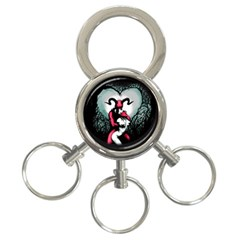 Happily Ever After 3 Ring Key Chains by lvbart