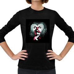 Happily Ever After Women s Long Sleeve Dark T-shirts by lvbart
