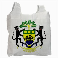 Coat Of Arms Of Gabon Recycle Bag (one Side) by abbeyz71