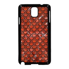 Scales2 Black Marble & Red Marble (r) Samsung Galaxy Note 3 Neo Hardshell Case (black) by trendistuff