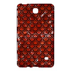 Scales2 Black Marble & Red Marble (r) Samsung Galaxy Tab 4 (7 ) Hardshell Case  by trendistuff