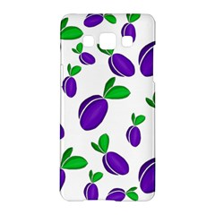 Decorative Plums Pattern Samsung Galaxy A5 Hardshell Case  by Valentinaart