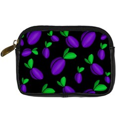 Plums Pattern Digital Camera Cases
