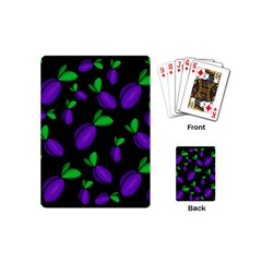 Plums Pattern Playing Cards (mini)