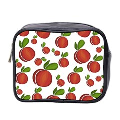 Peaches Pattern Mini Toiletries Bag 2 Side by Valentinaart