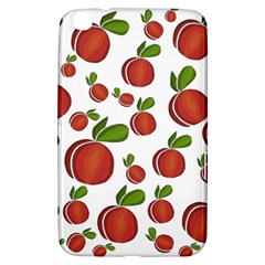 Peaches Pattern Samsung Galaxy Tab 3 (8 ) T3100 Hardshell Case  by Valentinaart