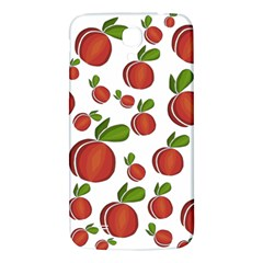 Peaches Pattern Samsung Galaxy Mega I9200 Hardshell Back Case by Valentinaart
