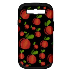 Peaches Samsung Galaxy S Iii Hardshell Case (pc+silicone) by Valentinaart