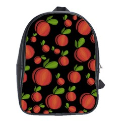 Peaches School Bags (xl)  by Valentinaart