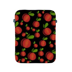 Peaches Apple Ipad 2/3/4 Protective Soft Cases by Valentinaart