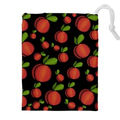 Peaches Drawstring Pouches (xxl)