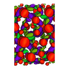 Peaches And Plums Shower Curtain 48  X 72  (small)
