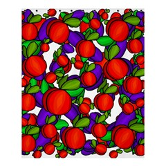 Peaches And Plums Shower Curtain 60  X 72  (medium)  by Valentinaart
