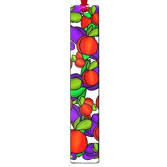 Peaches And Plums Large Book Marks by Valentinaart