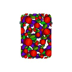 Peaches And Plums Apple Ipad Mini Protective Soft Cases by Valentinaart