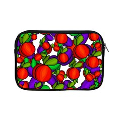 Peaches And Plums Apple Ipad Mini Zipper Cases by Valentinaart