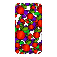 Peaches And Plums Samsung Galaxy Mega I9200 Hardshell Back Case by Valentinaart