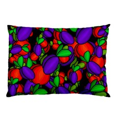 Plums And Peaches Pillow Case