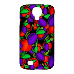 Plums And Peaches Samsung Galaxy S4 Classic Hardshell Case (pc+silicone) by Valentinaart