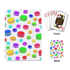Macaroons Playing Card