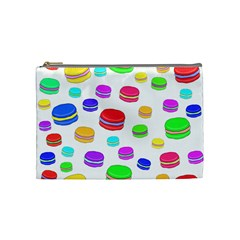 Macaroons Cosmetic Bag (medium)  by Valentinaart