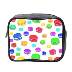 Macaroons Mini Toiletries Bag 2 Side by Valentinaart