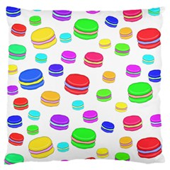 Macaroons Standard Flano Cushion Case (one Side) by Valentinaart