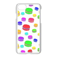 Macaroons Apple Iphone 7 Seamless Case (white)