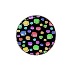 Colorful Macaroons Hat Clip Ball Marker (4 Pack) by Valentinaart