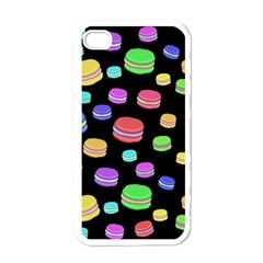 Colorful Macaroons Apple Iphone 4 Case (white) by Valentinaart