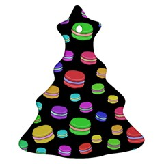 Colorful Macaroons Christmas Tree Ornament (2 Sides) by Valentinaart