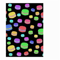 Colorful Macaroons Small Garden Flag (two Sides)