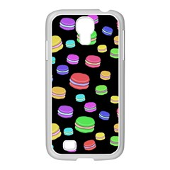 Colorful Macaroons Samsung Galaxy S4 I9500/ I9505 Case (white) by Valentinaart