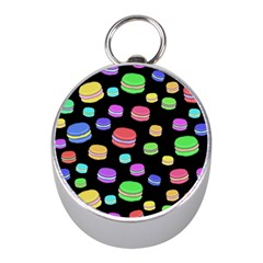 Colorful Macaroons Mini Silver Compasses
