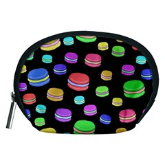 Colorful Macaroons Accessory Pouches (medium)  by Valentinaart