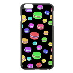 Colorful Macaroons Apple Iphone 6 Plus/6s Plus Black Enamel Case by Valentinaart