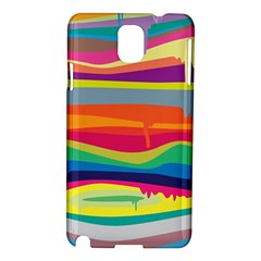 Colorfull Rainbow Samsung Galaxy Note 3 N9005 Hardshell Case by Jojostore