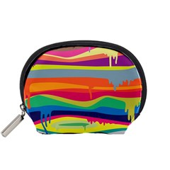 Colorfull Rainbow Accessory Pouches (small)  by Jojostore