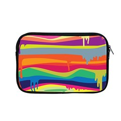 Colorfull Rainbow Apple Macbook Pro 13  Zipper Case