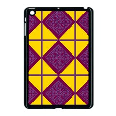Complexion Purple Yellow Apple Ipad Mini Case (black) by Jojostore