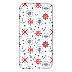 Compass Anchor Samsung Galaxy S5 Back Case (white)