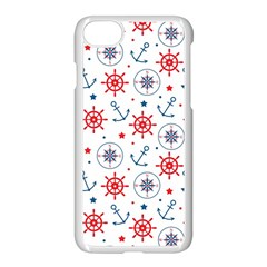 Compass Anchor Apple Iphone 7 Seamless Case (white) by Jojostore