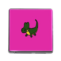 Crocodile Memory Card Reader (square) by Jojostore