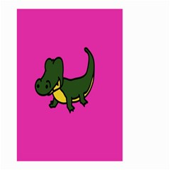 Crocodile Small Garden Flag (two Sides)