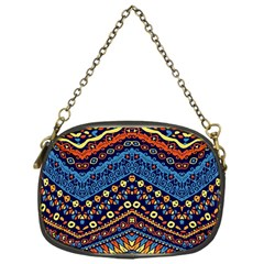 Cute Hand Drawn Ethnic Pattern Chain Purses (one Side)  by Jojostore