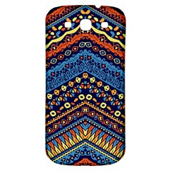 Cute Hand Drawn Ethnic Pattern Samsung Galaxy S3 S Iii Classic Hardshell Back Case by Jojostore