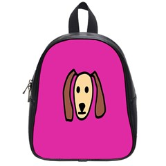 Face Dog School Bags (small)
