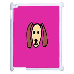 Face Dog Apple Ipad 2 Case (white)